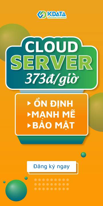 Thuê Cloud Server chỉ từ 373Đ/giờ
