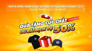 KDATA đồng hành cùng sự kiện cực hot trong tháng 12 - Vietnam Web Summit 2018