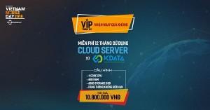 Đồng hành cùng sự kiện Vietnam Mobile Day 2018 - KDATA tặng 12 tháng Cloud VPS cho khách VIP tham dự sự kiện