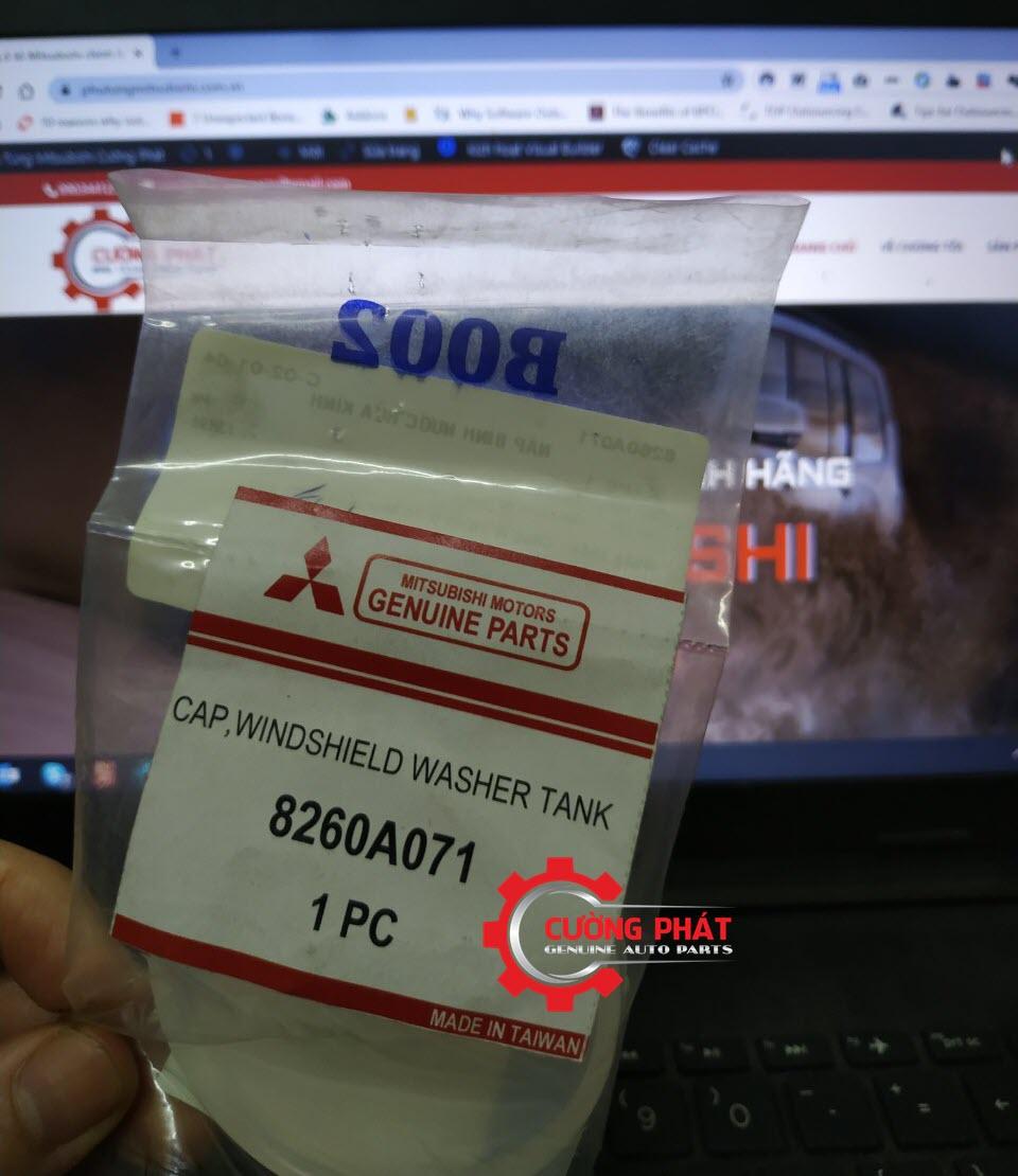 Mã nắp bình nước rửa kính Zinger