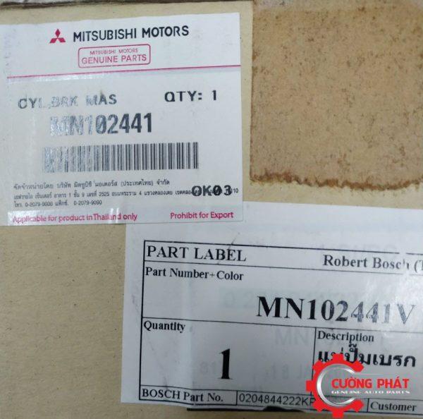 Mã tổng phanh Mitsubishi Triton