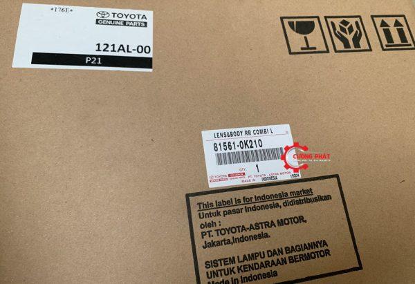 Mã đèn hậu Innova 2013 chính hãng