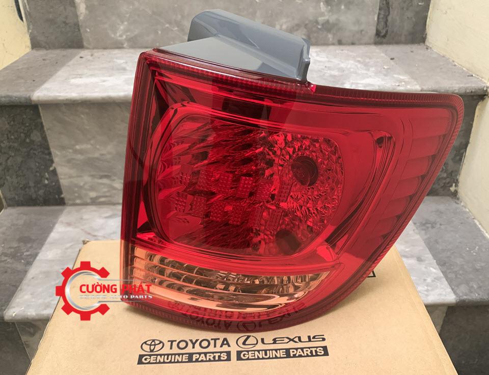 Hình ảnh đèn hậu ngoài Toyota Fortuner chính hãng (Đèn lái sau)
