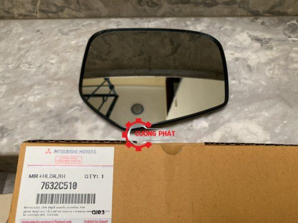 Mã mặt gương bên phụ Mitsubishi Triton 2015 chính hãng 7632C510