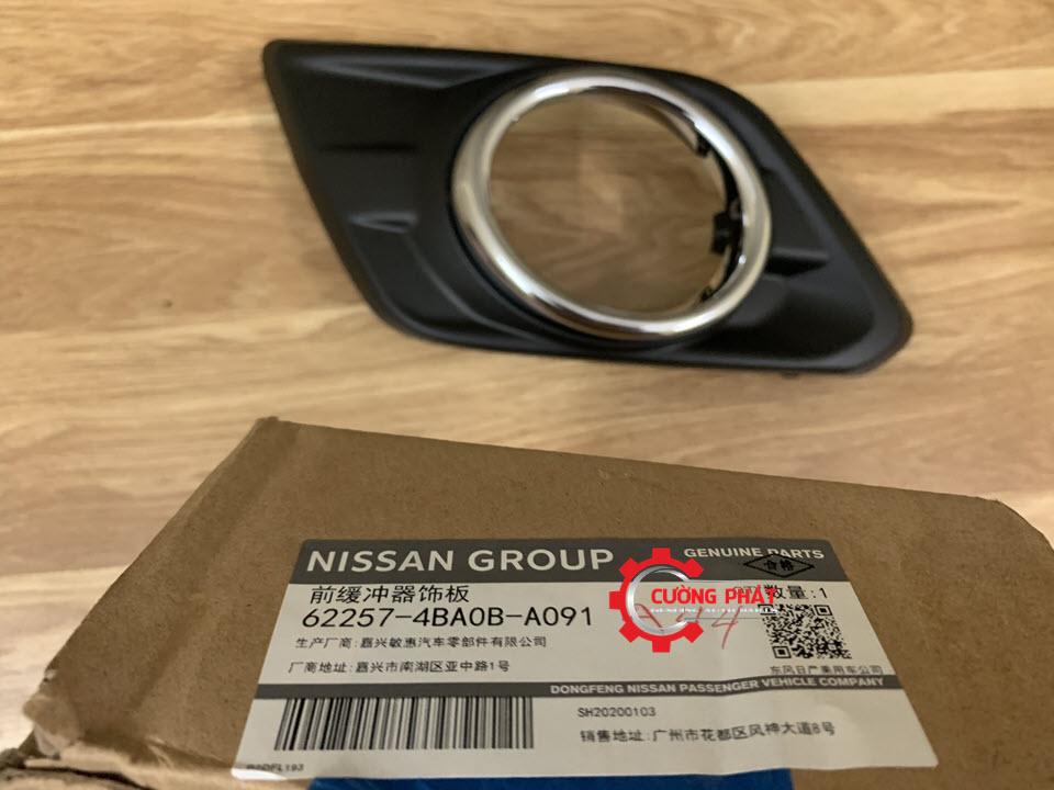 Mã ốp đèn gầm Xtrail 2018 chính hãng