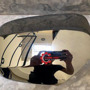 Hình ảnh ốp gương chiếu hậu Mitsubishi Triton 2015 mạ, không xi nhan