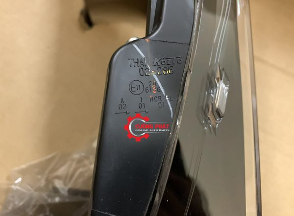 Chi tiết đèn pha Corolla Altis 2015 1.8 chính hãng