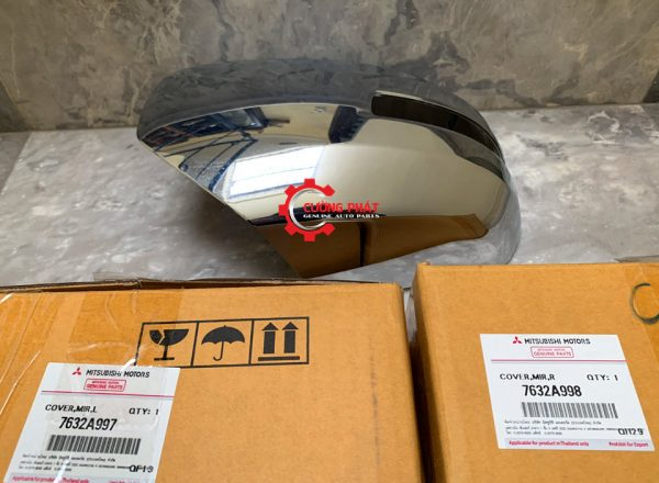 Mã ốp gương chiếu hậu Triton 2015 mạ, có xi nhan chính hãng