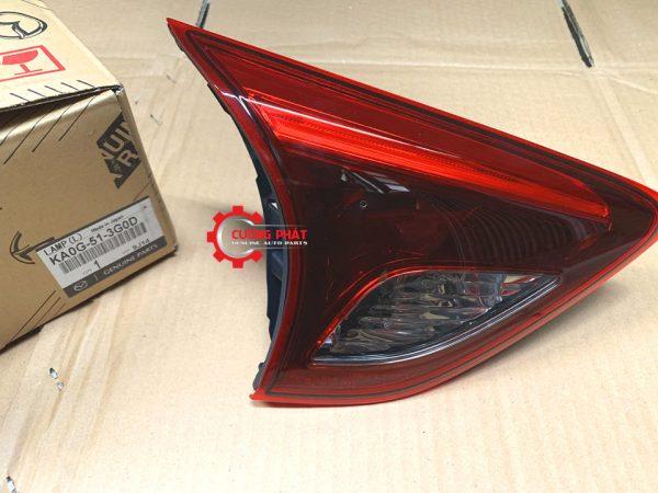 Hình ảnh đèn hậu trong Mazda CX5 2017 chính hãng