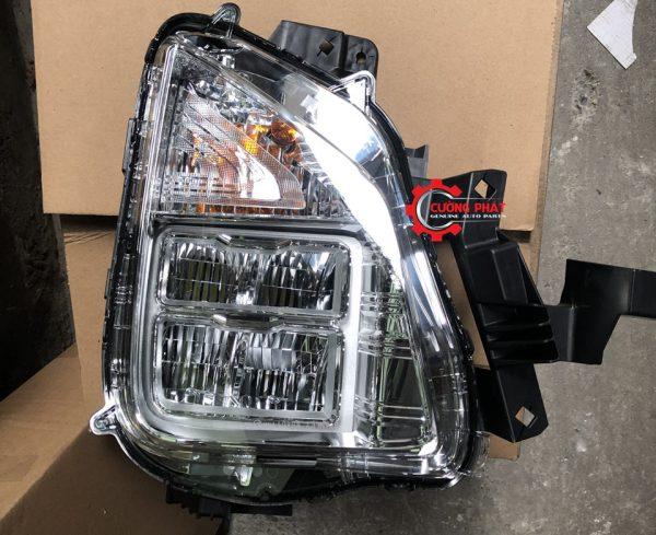Hình ảnh đèn pha Mitsubishi Xpander 2020 có LED chính hãng