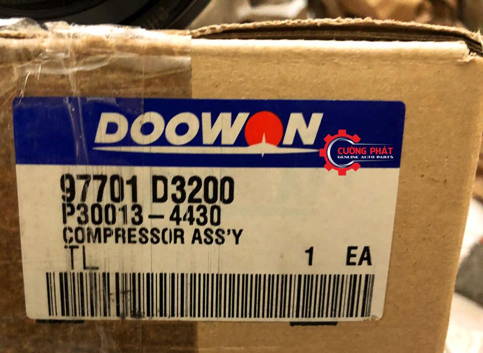 Mã lốc điều hòa Hyundai Tucson 2015 chính hãng Doowon