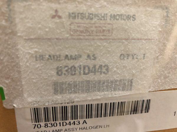 Mã đèn pha halogen Attrage 2020 chính hãng