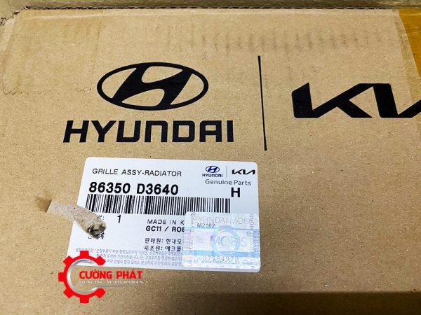 Mã phụ tùng mặt ga lăng Hyundai Tucson chính hãng