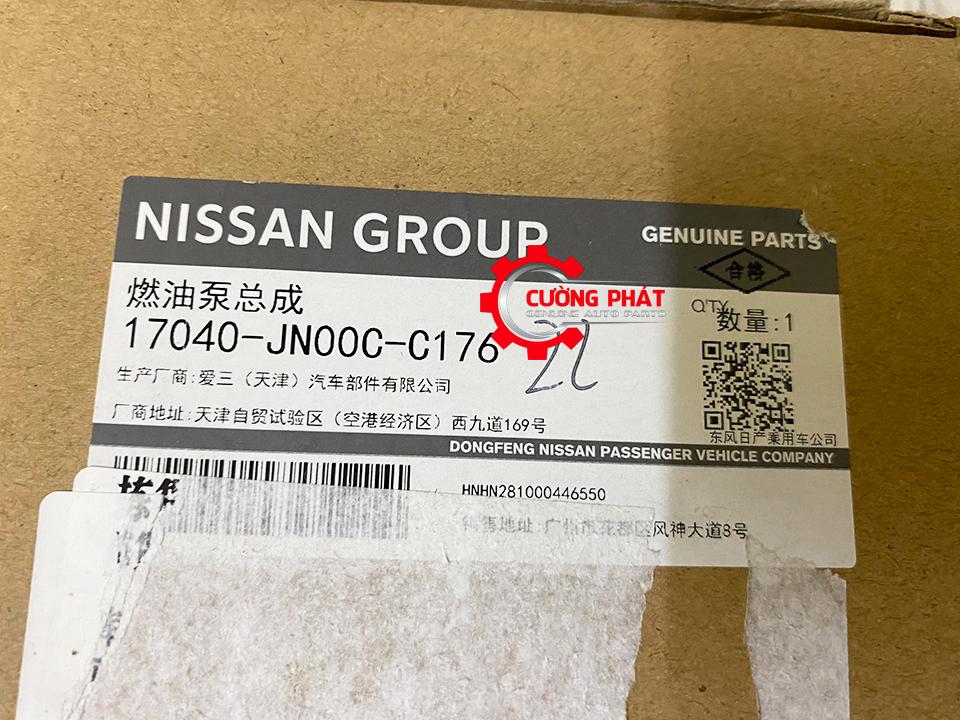 Tem mã lọc xăng Teana J32 MR20 chính hãng